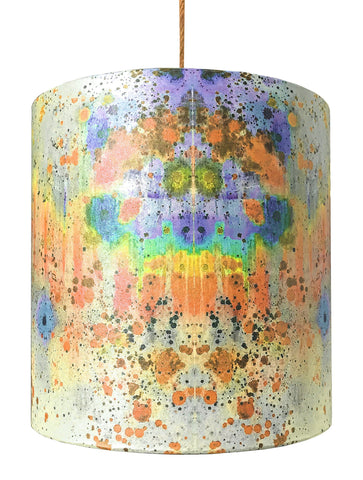 SONYA ROTHWELL RAINBOW NAGA DRUM SHADE : BRIGHT ORANGE
