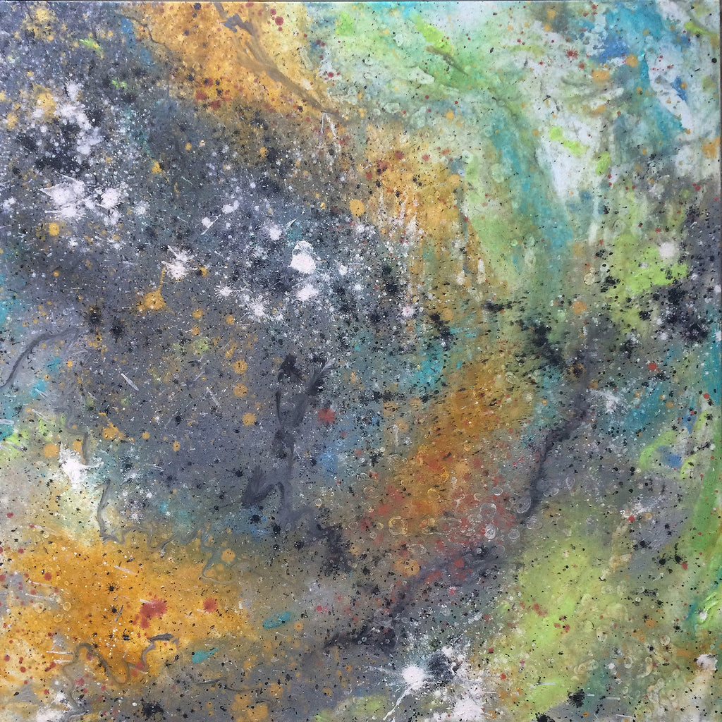 Painting - ATLAS COSMOSIS 14.4