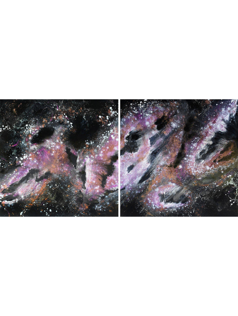 Painting - COSMOSIS 03.1 : OIL PAINTING