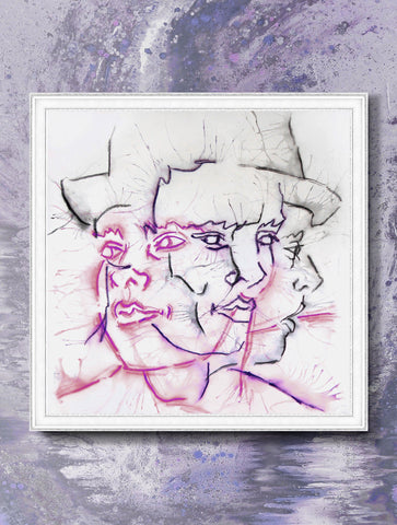 CRAZY DIAMOND HMT01 : WALL ART