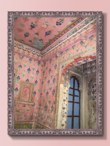 DEVIGARH PALACE PINK : WALL ART