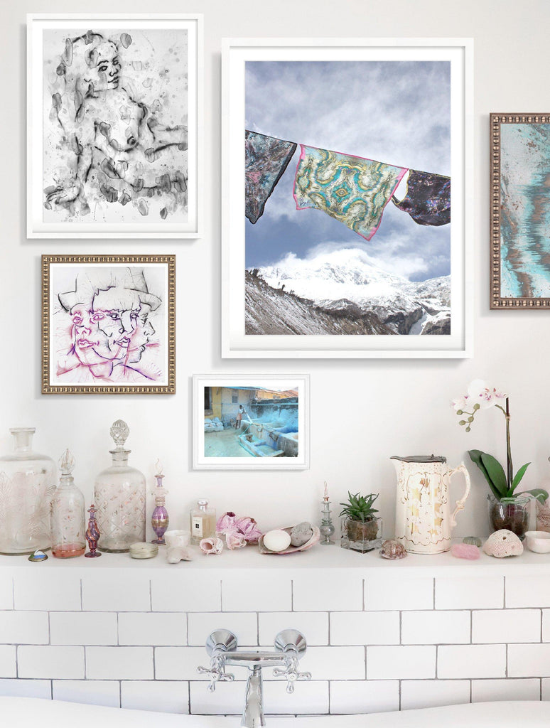 Print - GINGER SPICE MARKET II : WALL ART
