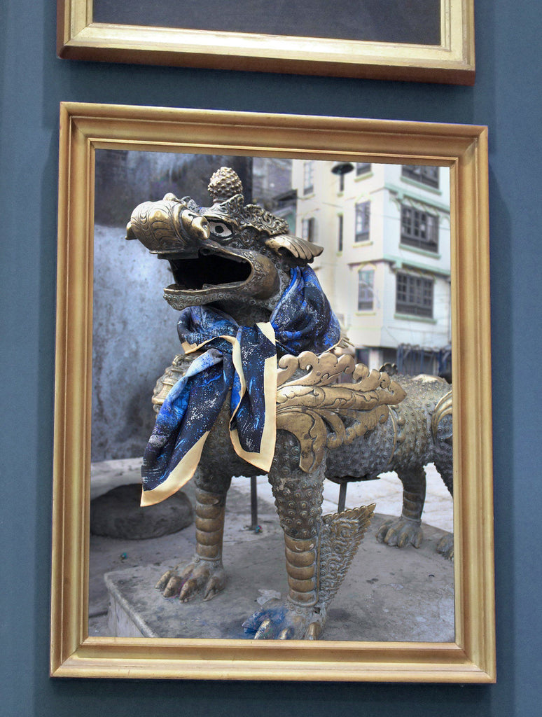 Print - GOLDEN DRAGON : WALL ART