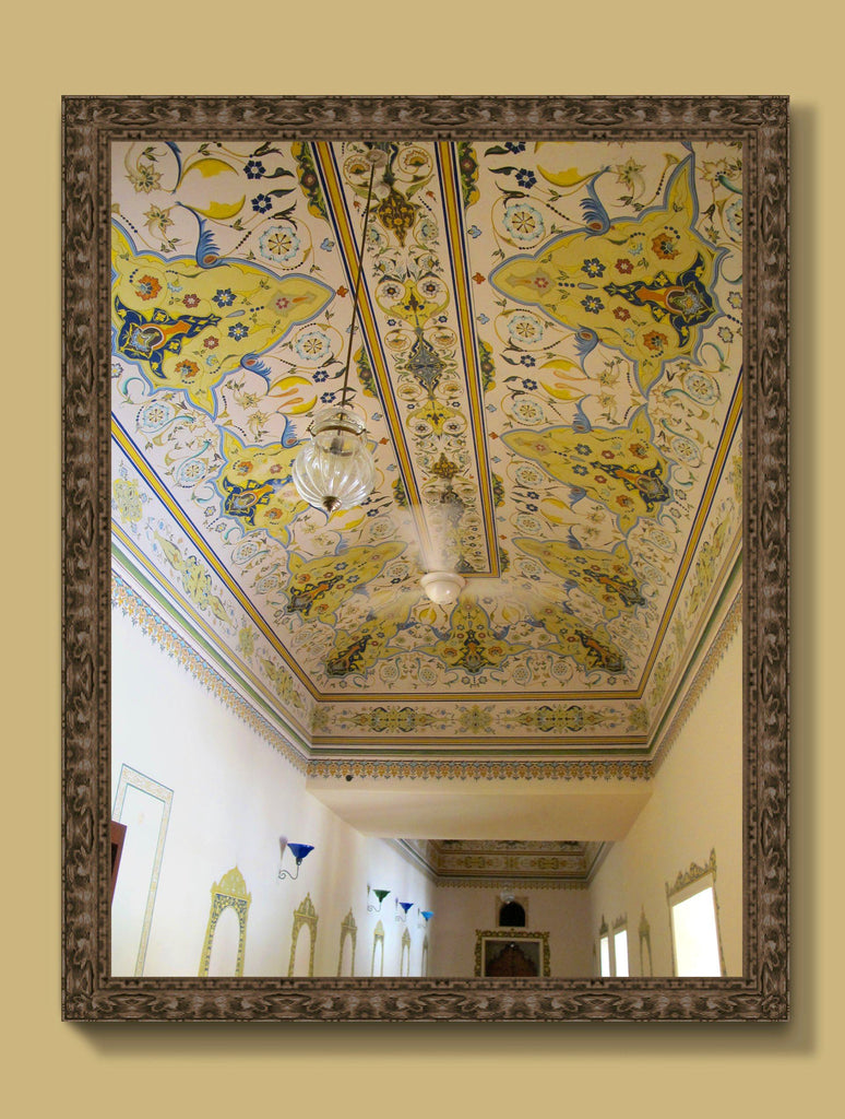 Print - SAMODE PALACE YELLOW : WALL ART