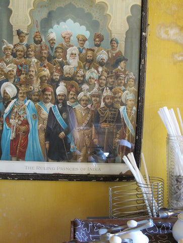THE RULING PRINCES OF INDIA : WALL ART