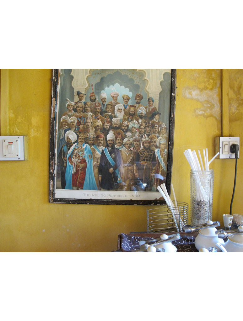 Print - THE RULING PRINCES OF INDIA : WALL ART