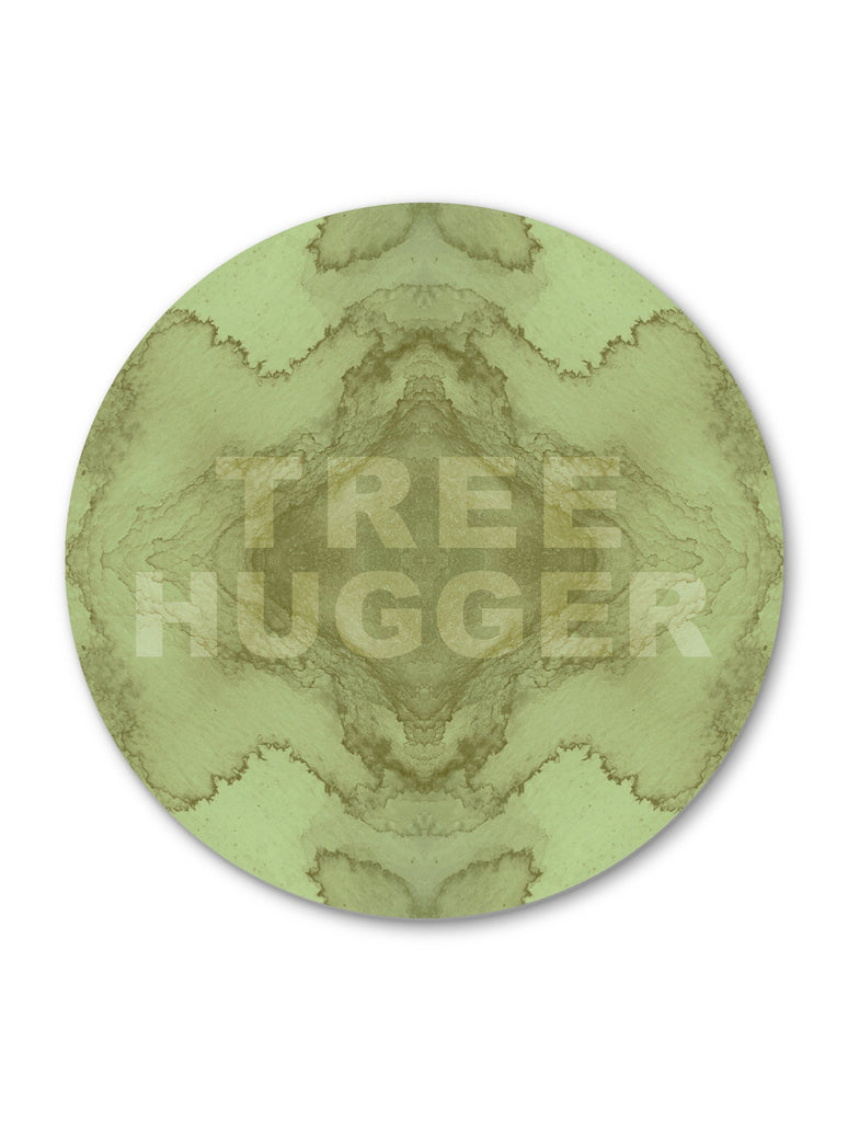 Print - TREE HUGGER : ROUND WALL ART