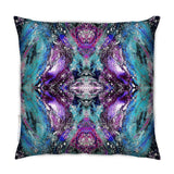 Sample - SAMPLE : INDOOR HEAVENLY JEWEL CUSHION : VIOLET NOIR : 55cmsq