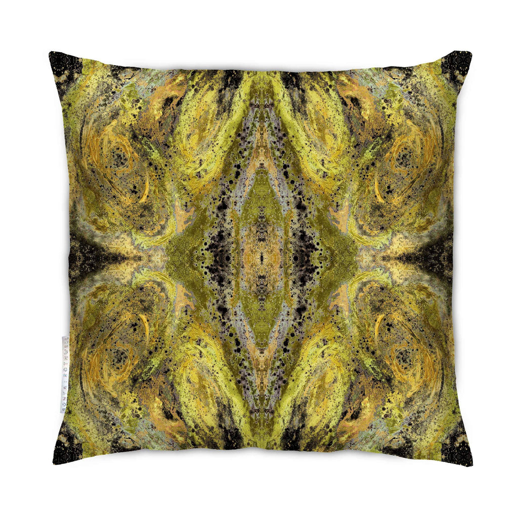 Sample - SAMPLE : INDOOR NIRVANA CUSHION : GOLD 40cmsq