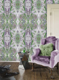 Wallpaper - SONYA ROTHWELL GREAT GANESH WALLPAPER : GREEN