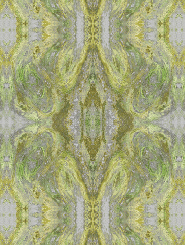 SONYA ROTHWELL NIRVANA WALLPAPER : LIME
