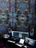 Wallpaper - SONYA ROTHWELL RAINBOW NAGA WALLPAPER : NOIR BLUE