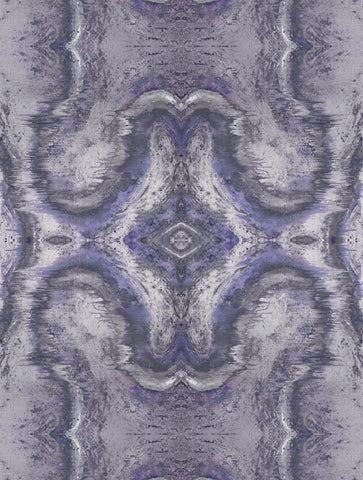 SONYA ROTHWELL SACRED GEOMETRY WALLPAPER : PURPLE HAZE