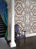 Wallpaper - SONYA ROTHWELL SACRED GEOMETRY WALLPAPER : ROSE GOLD