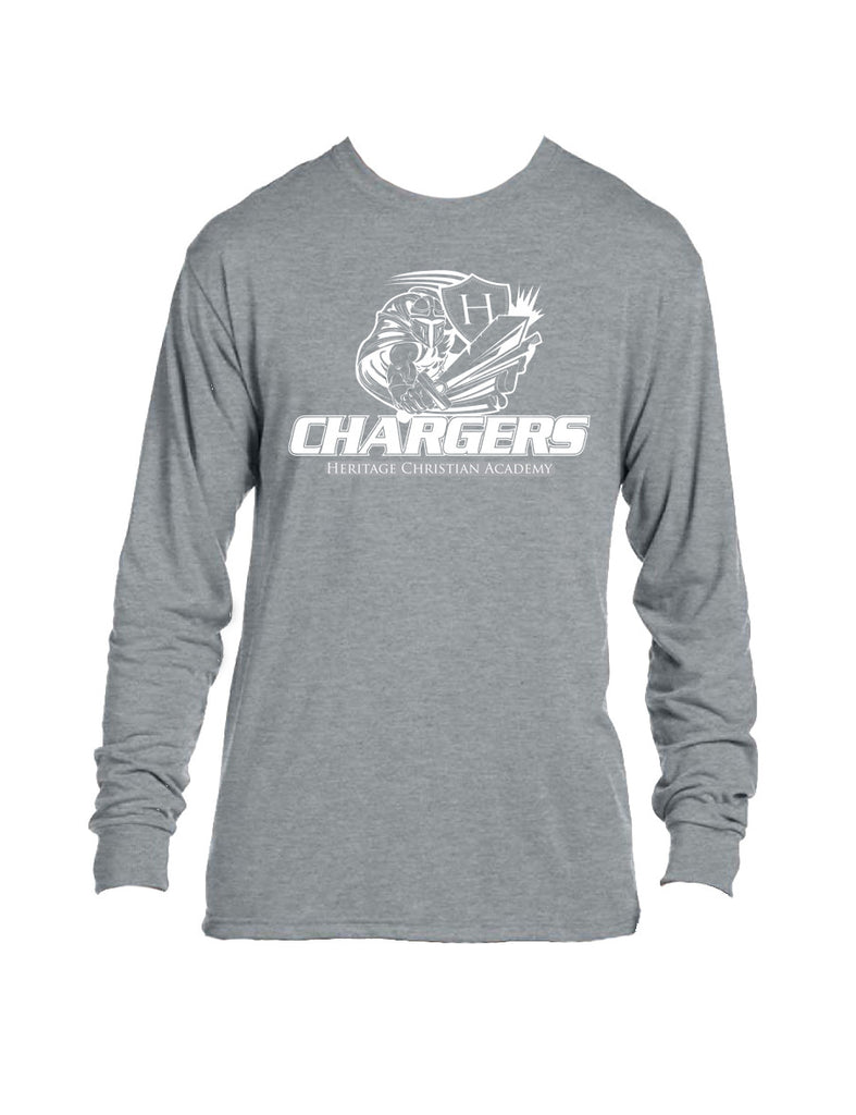#109 Gray Long Sleeve