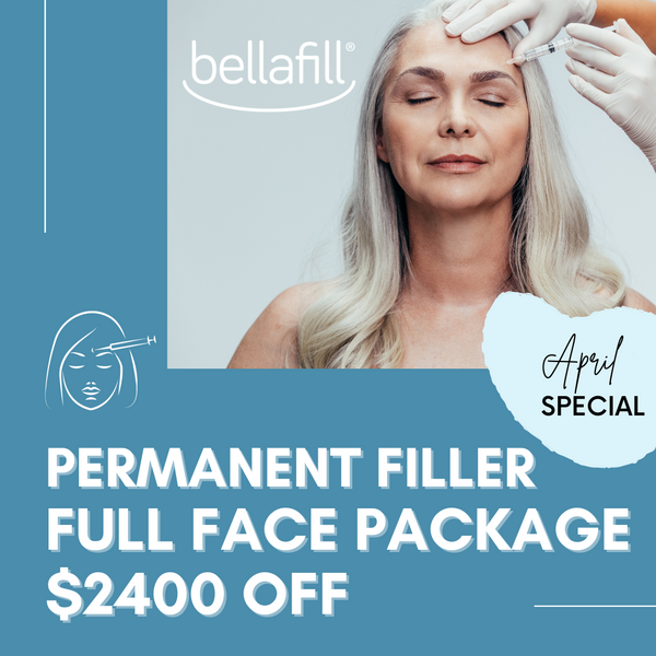 $2400 OFF Full Face Bellafill Package Upgrade