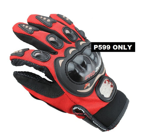 Sporty Motorcycle / Bicycle Gloves