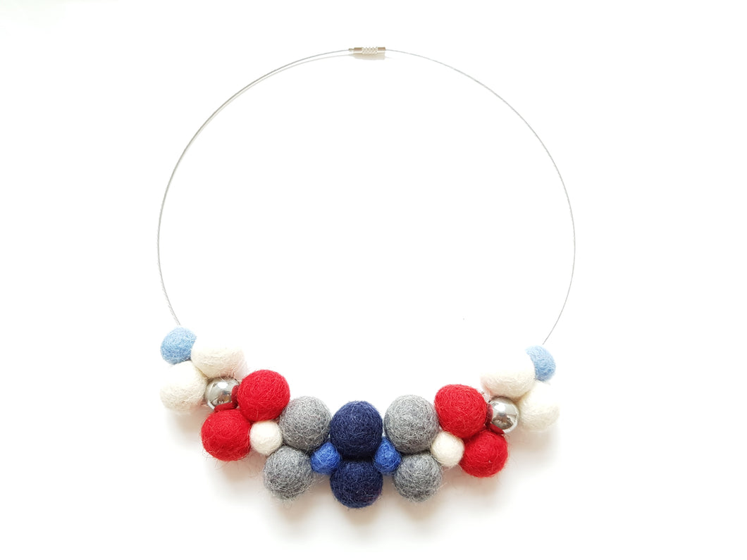 Nautical Fun bib - Light