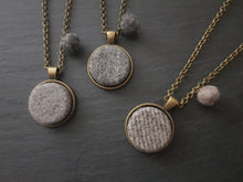100% wool Tweed pendant - Other Colours Available