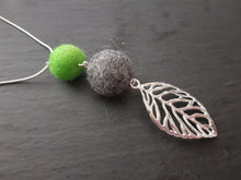 Leaf Pendant - Many Colours Available