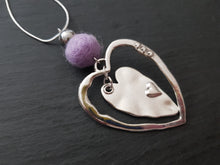 Sleek heart Pendant - Other Colours Available