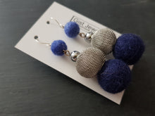 Mesh Drop Statement Earrings - Other colours available