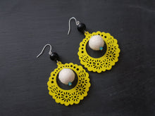 Fiesta Babushka Fun, statement earrings - Other colour available