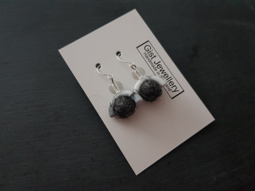Geo Marble Arch Earring - Other Colours Available