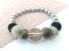 Mariko Stretch Bracelet - Monochrome