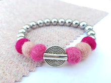 Mariko Stretch Bracelet - Pinks
