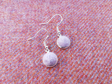 Dot Earrings - Thistle lilac
