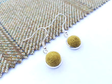 Dot Earrings - Olive