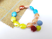 Summer Blush Stretch Bracelet Multi coloured