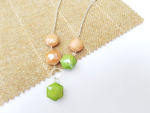"Summer Pop 20"" drop necklace - Sage"