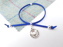 Scottish friendship Thistle bracelet - Royal Blue
