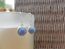 Dot Earrings - Baby blue