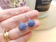Dot Earrings - Smoke Blue