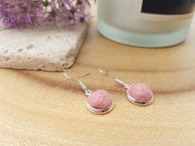 Dot Earrings - Coral Pink