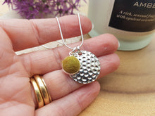 Hammer Dot Necklace - Olive