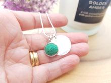 Mother of Pearl Dot Necklace - Jade