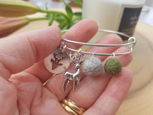Sleek Reindeer Bangle - Dark Olive
