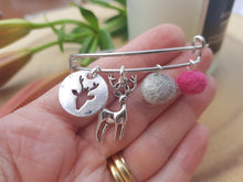 Sleek Reindeer Bangle - Rose Pink