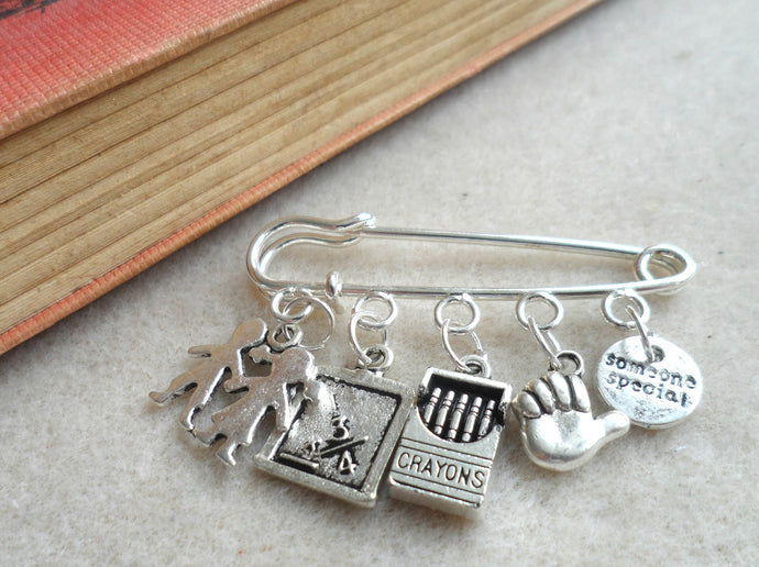 Someone special, assistant teacher, School themed bangle