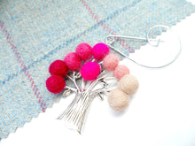 Tree Of Life - Brooch - Pink