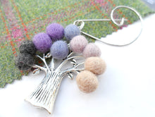 Tree Of Life - Brooch - Purple