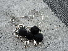 "Scottish Kitsch ""Ram McLamb"" Brooch , Black"