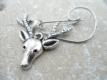 Reindeer Stag head Brooch