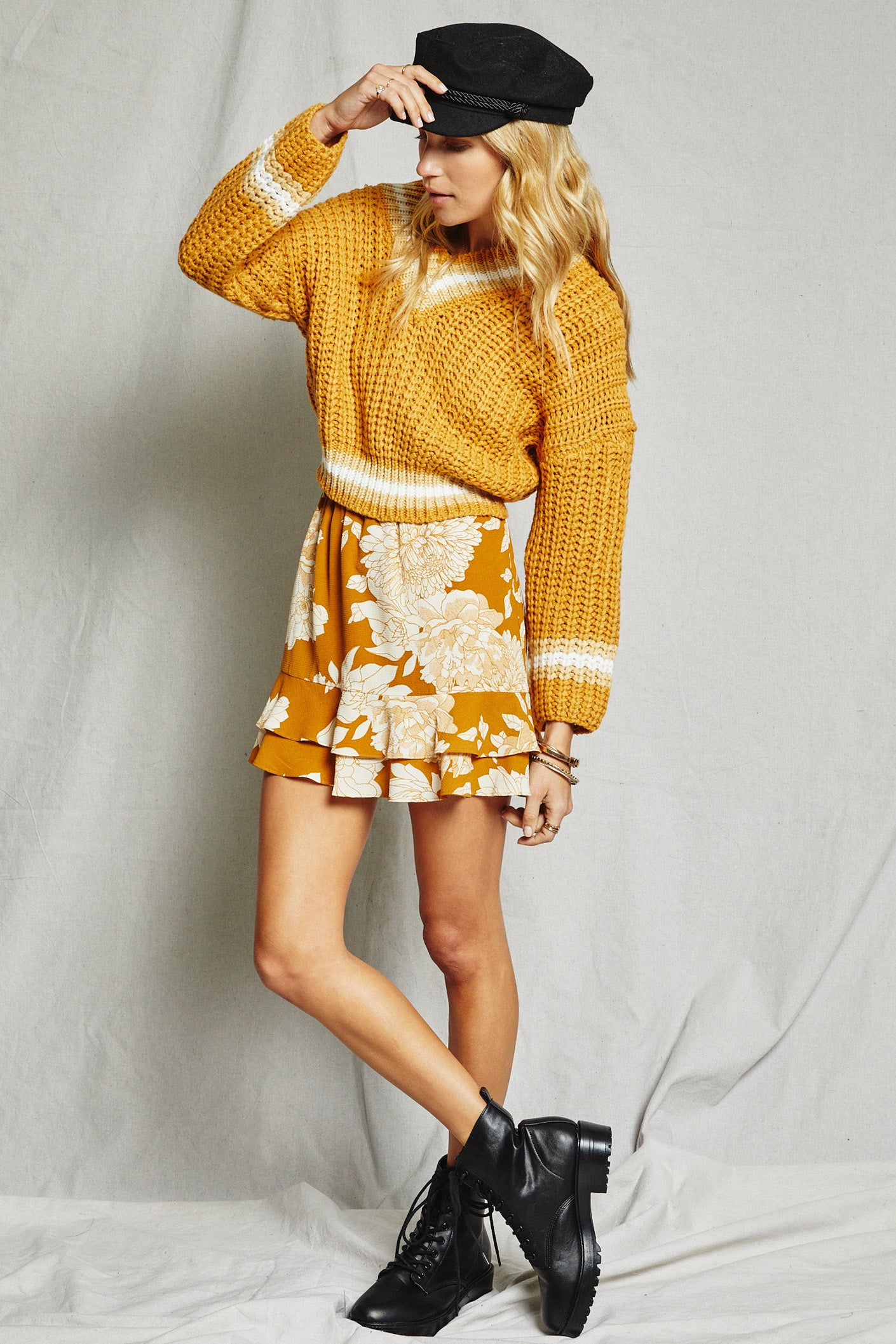 On The Sunset Mini Skirt