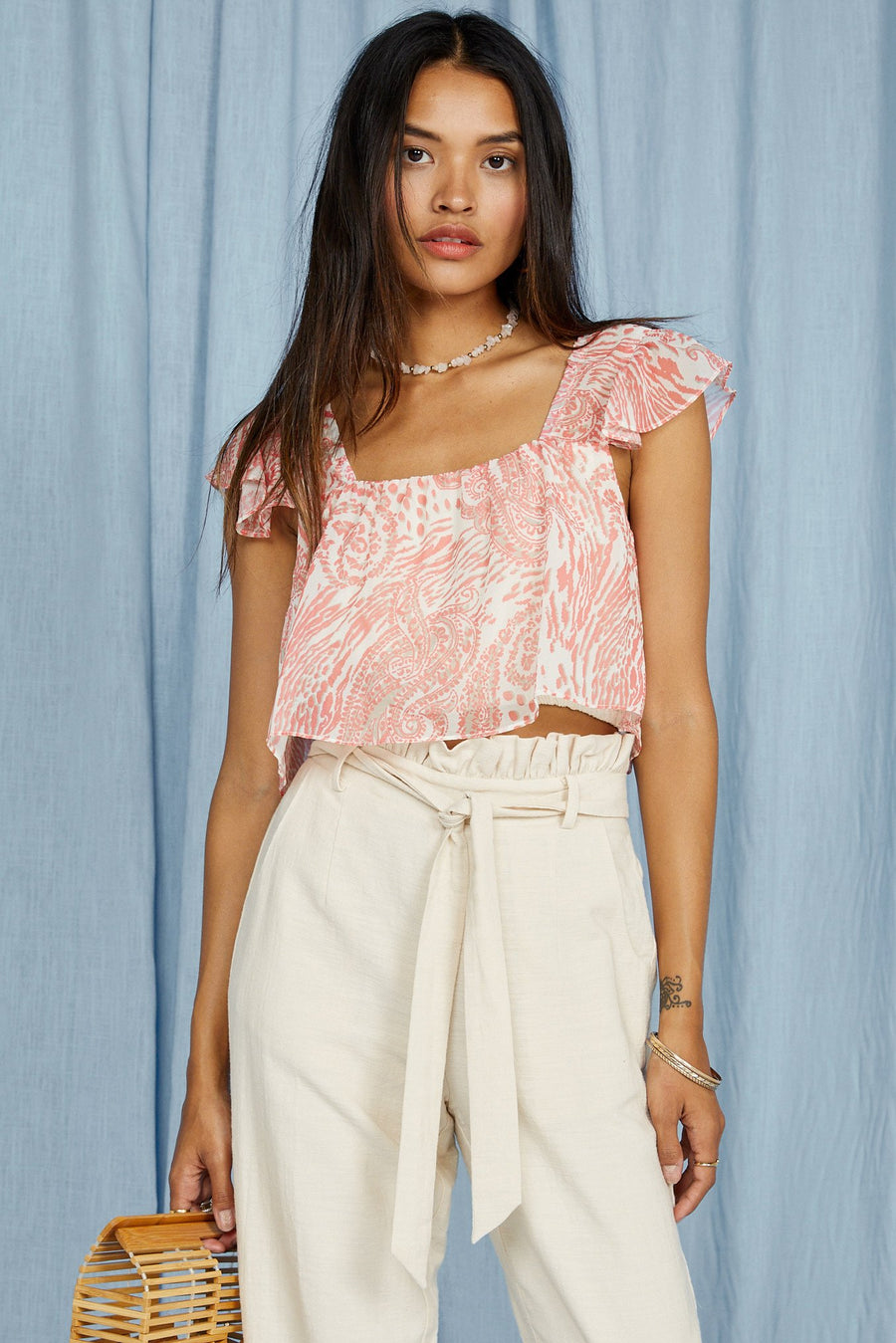 Desert House Crop Top