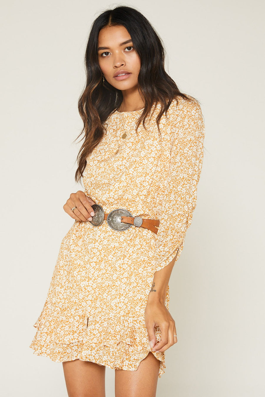 Wild Honey Mini Dress